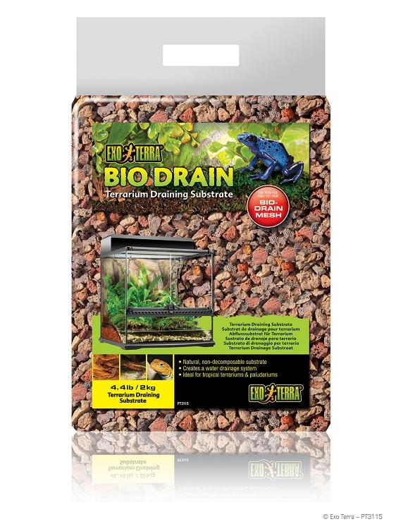 exo terra biodrain terrarium draining substrate