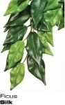 Exo-Terra Hanging Silk Plant Ficus - Medium
