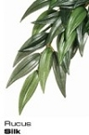 Exo-Terra Hanging Silk Plant Ruscus - Medium