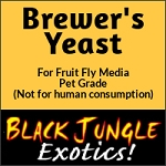 Brewers Yeast - For Fruit Fly Formulas - 5 lb. (ANIMAL GRADE - NOT FOR HUMAN CONSUMPTION)