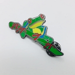 Enamel Lapel Pin - Red Eye Tree Frog #2