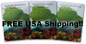 Book Set - Dendrobatidae, Poison Frogs: The Fantastic Journey through Ecuador, Peru and Colombia. (3 VOLUME SET) Paperback - English Version