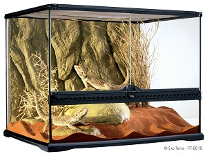 Natural Exo-Terra Terrarium Medium Wide (24 x 18 x 18) - (LOCAL OR SHOW PICKUP ONLY - NO SHIPPING!)
