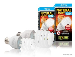 Exo Terra Natural Light Ion Deodorizing Bulb- 25w