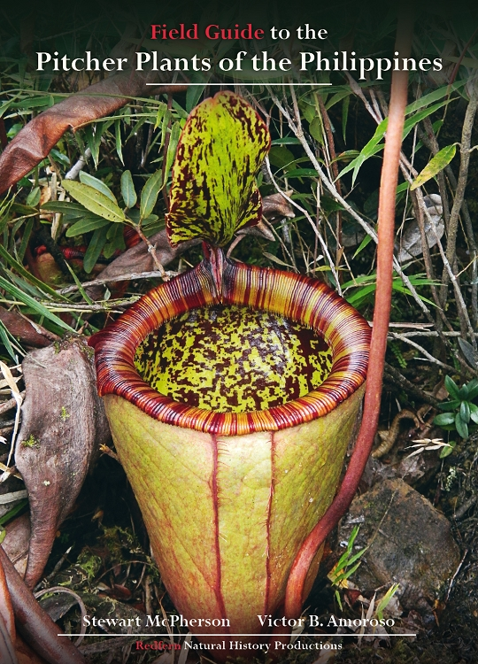 Book - Field Guide to the Pitcher Plants of the Philippines