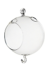 Glass Orb Terrarium w Hook - 5